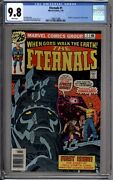 Eternals 1 Cgc Graded 9.8 Nm/mt White Pages Newsstand Marvel Comics 1976