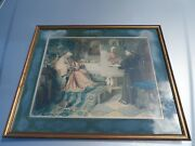Toby E. Rosenthal Munich 1896 Framed Print - Humorous Scene Of Napping Cardinal