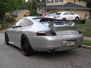 Porsche Gt3 Rs Wing Tail Rear Deck Lid Spoiler Carrera 996 1999 To 2004 Kit