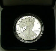 2007-w Proof American Silver Eagle 1 Coin Ase 1 Troy Oz .999 With Coa And Ogp