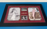 Limited Edition Marilyn Monroe 177/499 Swatches And Photography Memorabilia