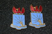 Ww2 Us Aaf Army Air Force Training Center Di Dui Crest Pair And039prepare For Combatand039