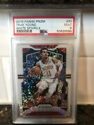🔥 2019-20 White Sparkle /20 Ssp 2nd Year Trae Young Prizm Psa 9 Resub Poss 10
