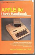 Apple Iie User's Handbook By Weber Systems Excellent Condition
