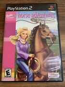 Barbie Horse Adventures Wild Horse Rescue Sony Playstation 2 Ps2 2003 Complete