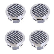 4pcs Rv Boat 3 76mm Stainless Steel Curved Clad Airflow Vent 81932ss-hp