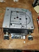 1970s 80s Gm Vintage Am/fm Pushbutton Radio Tested Ok