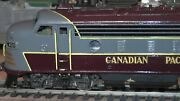 Ho Brass Tenshodo Canadian Pacific Ab Diesel Set Runs On Track Pacific Fast Mail