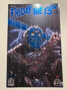 Friday The 13th Special 1 Royal Blue Foil Edition Vf+ Limited 100 Cofa Avatar