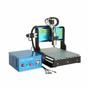 V0 110v 800w 3 Axis Cnc 3040 Router Engraving Milling Machine Parallel Port