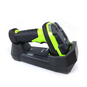 Zebra Ds3678-dp Barcode Scanner 2d Qr Reader With Cradle Power Supply Usb Cable