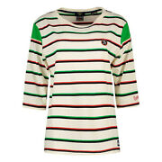 Superdry Womenand039s Collegiate Ivy League Crew Blouse Pn W6010960a