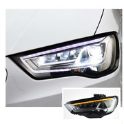 For Audi A3 Led Headlights Led Drl Replace Oem Headlight Sequential 2014-2016