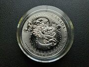 Lucky Dragon - 2019 1 Oz Silver High Relief Coin In Capsule Canada Rcm Canadian