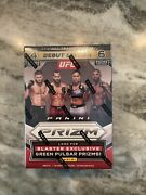 Brand New Ufc 2021 Panini Prizm Debut Edition Factory Sealed Blaster Box
