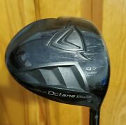 Callaway Diablo Octane Black Tour 9.5 Degree Driver Stiff Project X Shaft