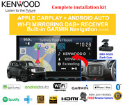 Kenwood Dnx9190dabs For Jeep Renegade 2015-2016-stereo Upgrade