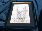 Lawrence Nelson Wilbur,new York City,drawing, West Side,pencil, Ma Artist