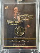 1950 S Lincoln Cent/penny 1/1 Limited Edition Card 1/1 Card Is Pack Fresh Mint