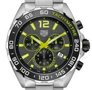 Tag Heuer Formula 1 F1 Yellow / Black Chronograph 2021 Model New. Rrp Andpound1700