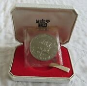 Gibraltar 1967 Castle And Key Silver Proof Crown - Still Mint Sealed/boxed