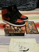 Nike Air Jordan 1994 Bred Banned Us 8 Box Card Paper 130207-061 Vintage Ds New