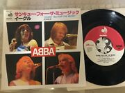 Abba Thank You For The Music Japan Dsp-157 7 Ep Vinyl Record 1980 F/s