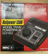 Mrc Railpower 1300 Model Train Power Pack For N And Ho Scale New In Box