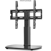 Table Top Universal Tv Stand Base Height Adjustable Mount Bracket For 32‑65