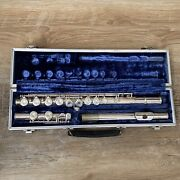 E. L. Deford Elkhart 1 Flute W. Hard Case - Nice Condition And Fast Shipping