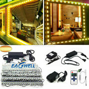 10200ft 5050 Smd Warm White 3 Led Module Light Store Front Window Sign Lamp Kit