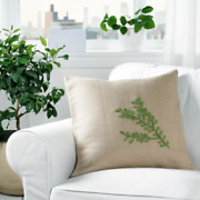 Ikea Botanisk Hand Made 20 Jute Decor Pillow Cushion Cover New 2 Available