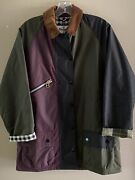 Barbour X Alexa Chung Patch Patchwork Wax Jacket - Nwt - Us 2 Uk 6