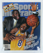 Sports Illustrated 1998 Kobe Bryant Hof 1st Cover Rc Fc Magic Signed Newsstand
