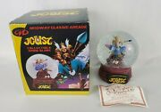 Midway Classic Arcade Joust Collectible Snowglobe Le Numbered 1702 / 3000 - 2018