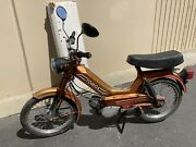 Tomos 2 Speed Automatic Moped. Barn Find For Parts Or Restoration