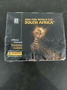 2010 Panini World Cup Trading Cards Factory Sealed Box