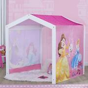 Disney Princess Indoor Playhouse With Fabric Tent For Boys And Girls By Delta...