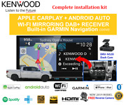 Kenwood Dnx9190dabs Stereo Upgrade To Suit Toyota Tundra 2007-2013 Amp