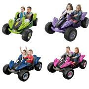 12v 4 Colors Toy Car Dune Racer Ride-on Vehicle Sturdy Kids Monster Truck Riding