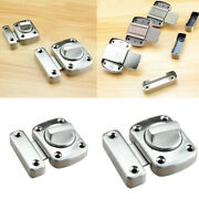 Rotate Bolt Latch Safety Door Lock Bathroom Toilet Privacy Gate Latches