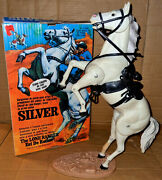 Rare Canadian Irwin Marx/gabriel Lone Ranger Silver Horse Variant Complete Boxed