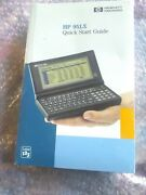 Hewlett Packard Hp 95lx Pda Calculator Userandrsquos Guide Manuals Only New Sealed