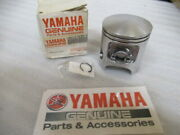 M23a Genuine Yamaha 58w-e1635-00 Piston Oem New Factory Motorcycle Parts