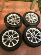 Bmw Style 450 X5 And X6 19 Wheel/run Flat Tire/tpms And Center Caps Oem Pickup Only