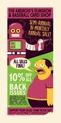 The Simpsons Comic Book Shop The Android's Dungeon Advertisement Poster Artwork
