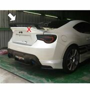 Unpainted For Toyota Gt86 Brz Subaru Scion Nur Trunk Spoiler Boot Coupe