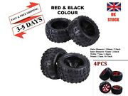 4/2 Pcs Rc Monster Truck 150mm Tires And Wheel Rims 17mm Hex 1/8 Crawlers Trucks