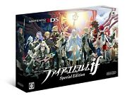 Nintendo 3ds Fire Emblem If Special Edition Art Book Limited Card Discontinued