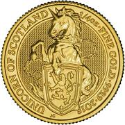 1/4 Oz The Queenand039s Beasts 2018 Unicorn Of Scotland Gold Coin Bullion Andpound25 Uk